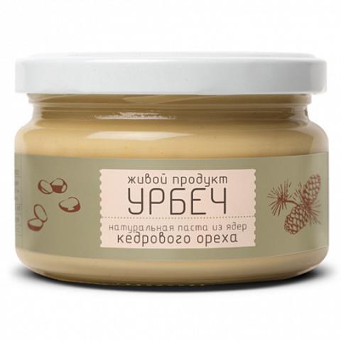 Живой продукт Урбеч из ядер кедрового ореха 225 г