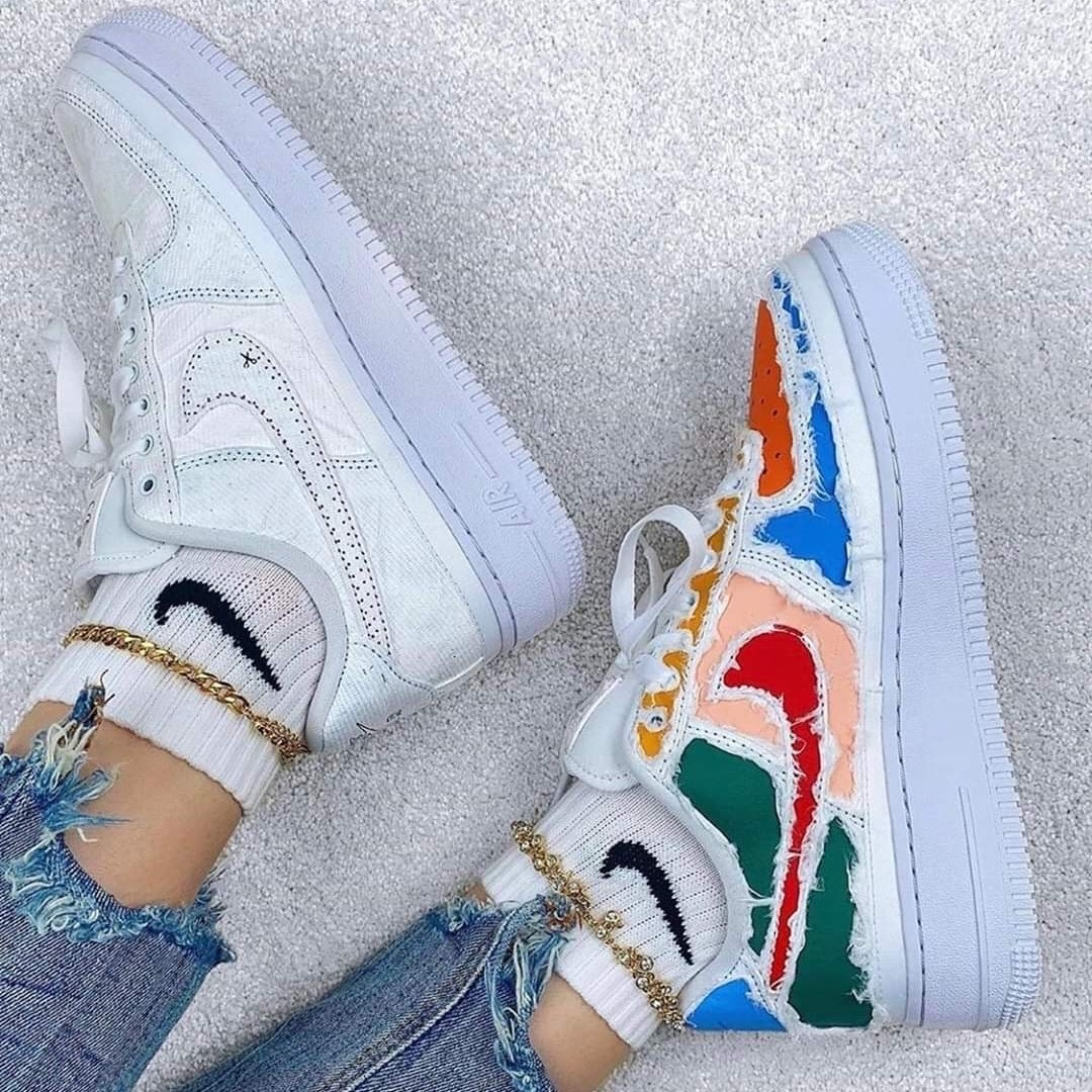 Nike Air Force Low Tear Away