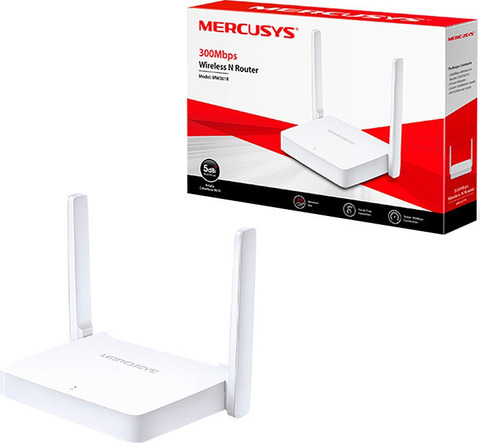 Маршрутизатор Mercusys, MW301R, белый
