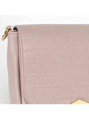 Сумка розовая из искусственной кожи