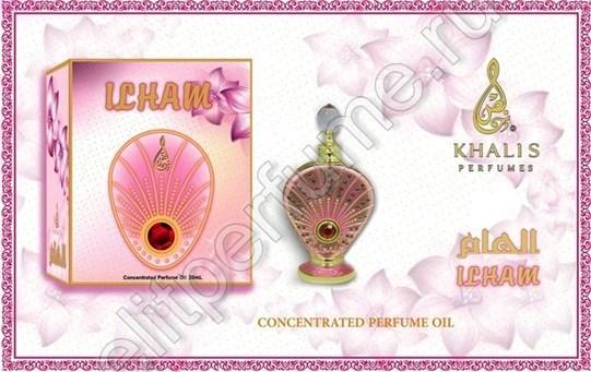 Пробник для Ilham Илхам 1 мл арабские масляные духи от Халис Khalis Perfumes
