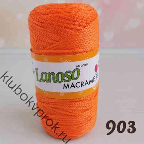 LANOSO MACRAME PP 903, Оранжевый