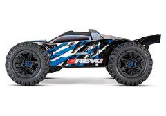 E-Revo VXL Brushless: 1:10 Scale 4WD Brushless Blue