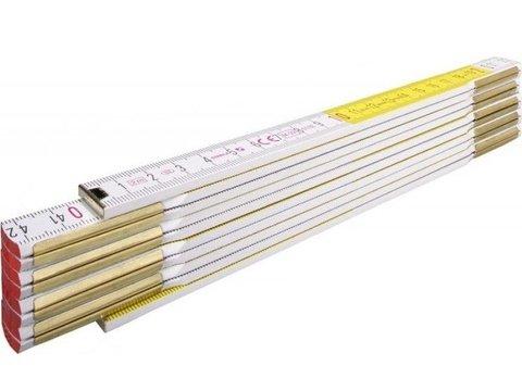 Метр складной деревянный, 3М Х 16ММ STABILA