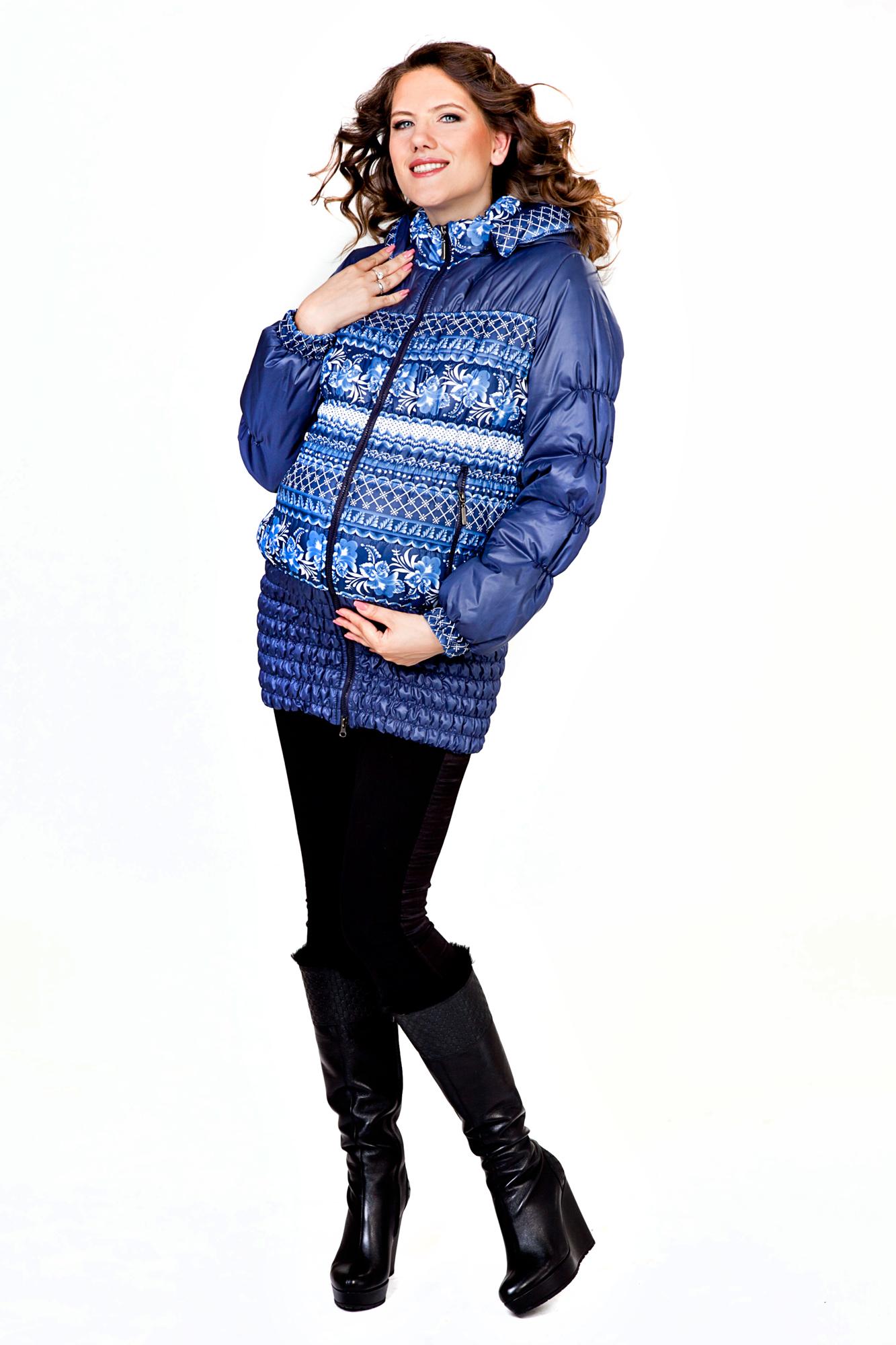 Куртка для беременных 04784 синий