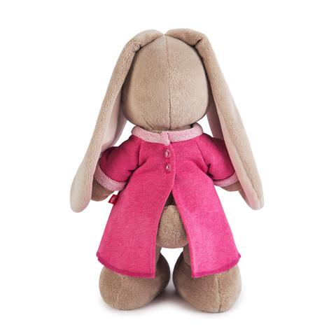 Зайка Ми в розовом платье с вишенкой