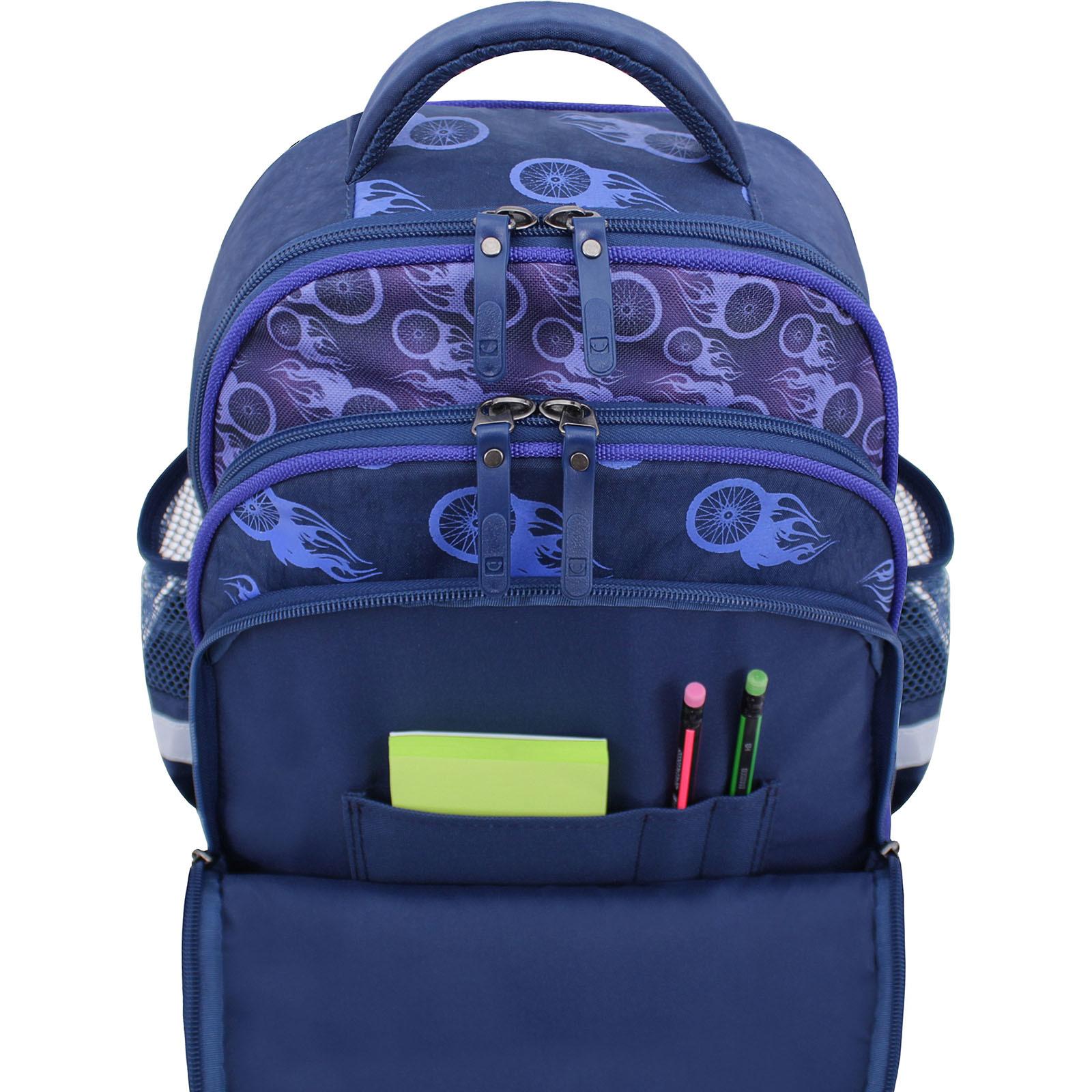 Рюкзак школьный Bagland Mouse 225 синий 507 (0051370) фото 4