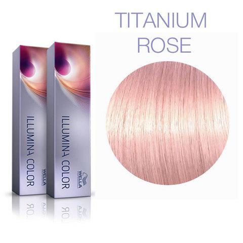 Wella Professional Illumina Color Opal Essence Titanium Rose (Титановый розовый) - Стойкая краска для волос