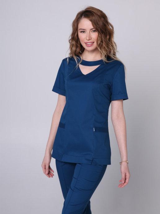 Женская блуза интересного дизайна