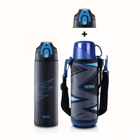 Термос детский FFR-1004WF (1 литр), синий