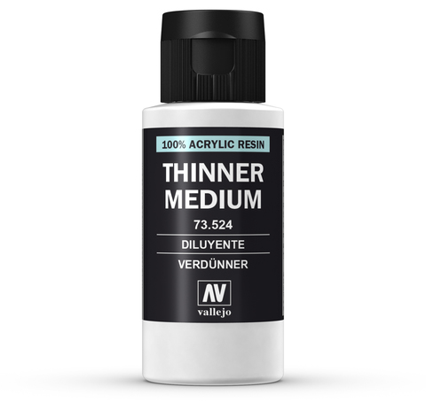 Model Color Thinner 60 ml.