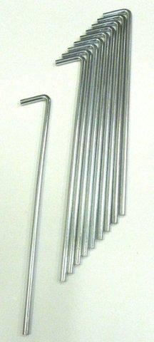 Колышки для крепления палатки WoodLand Standart Stake 10 шт. (PK-007)