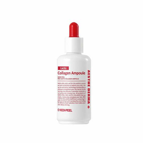 Medi-Peel Red Lacto Collagen Ampoule коллагеновая ампульная сыворотка с лактобактериями и аминокислотами