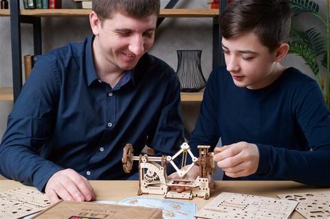 Тахометр STEM (Ugears) - Конструктор, сборная модель, механическое пособие для юного инженера