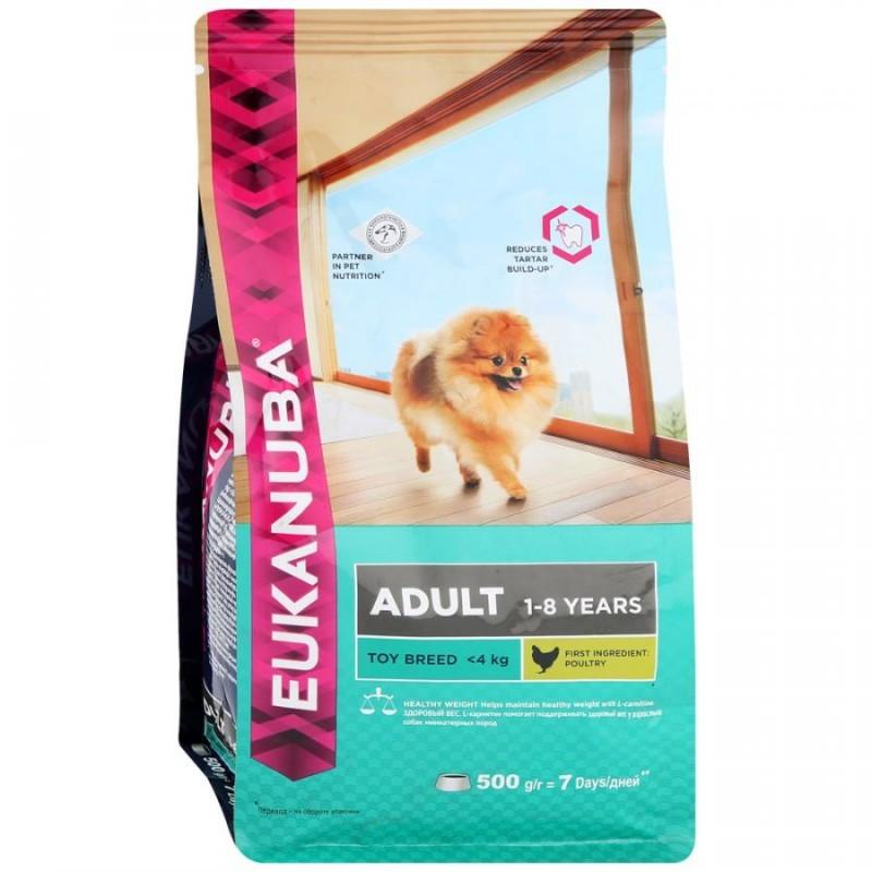 Eukanuba Корм для собак миниатюрных пород, Eukanuba Dog TOY ADULT 10135705.jpg