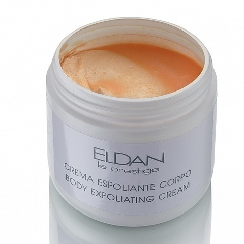 Eldan Body еxfoliating сream, Отшелушивающий крем для тела, 500 мл.