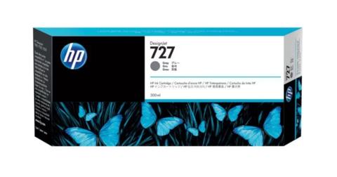 Оригинальный картридж струйный HP F9J80A (727), серый фото