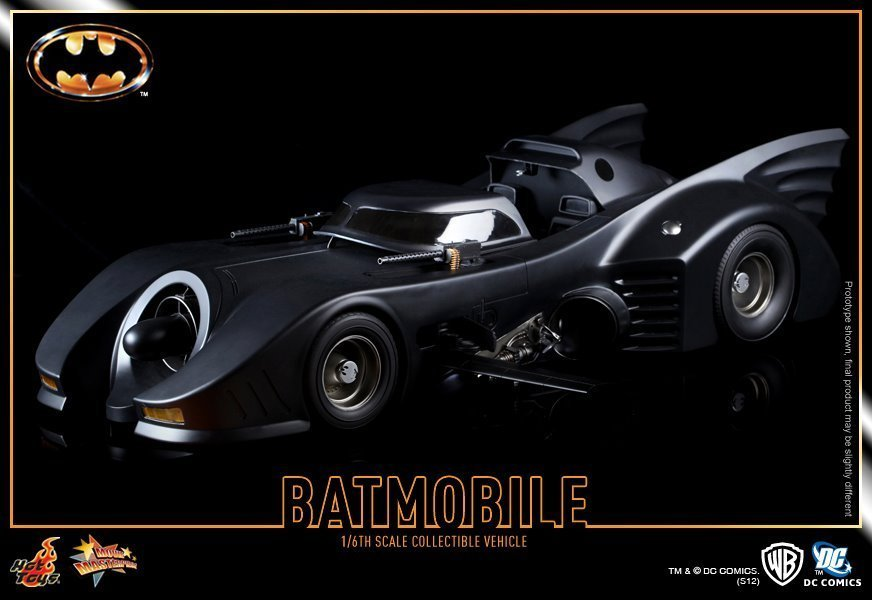 Batman - 1989 Batmobile Movie Masterpiece 1/6 Scale
