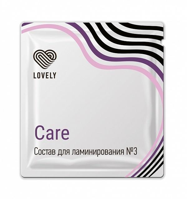 Состав для ламинирования №3 Care 1 г (питает) Lovely