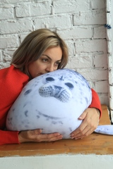 Подушка-игрушка антистресс Gekoko «Тюлень» 1