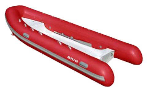 РИБ-лодка с жестким дном BRIG F450 Rus