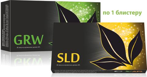 APL. Аккумулированные драже APLGO GRW+SLD для оздоровления суставов, восстановления энергетики по 1 блистеру