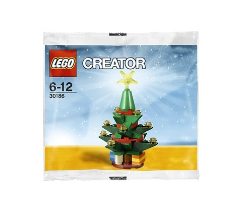 LEGO Creator: Рождественская ёлка 30186 — Christmas Tree — Лего Креатор Создатель