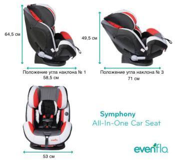 Автокресло Symphony™ e3 DLX