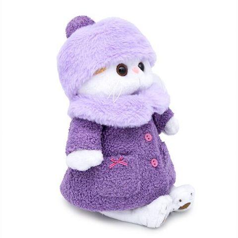 Кошечка Ли-Ли в лиловой шубке