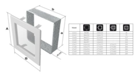 Вентиляционная решетка Рустик с задвижкой (17*49) 49RX