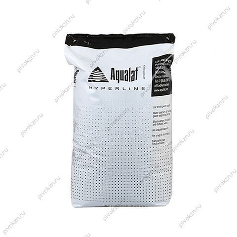 Уголь активированный кокосовый Aqualat HyperLine 12,5 кг