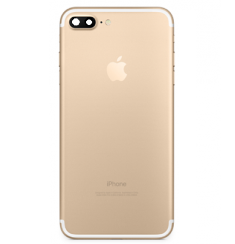 Back Cover Apple iPhone 7Plus Gold MOQ:5