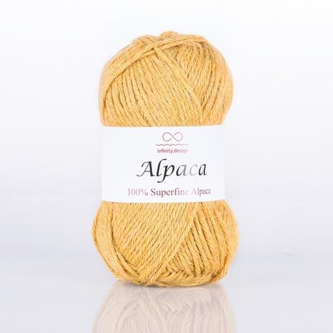 Пряжа Infinity Alpaca 0094 желтый