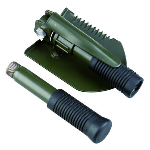Многофункциональная туристическая лопата AceCamp Folding shovel with pick
