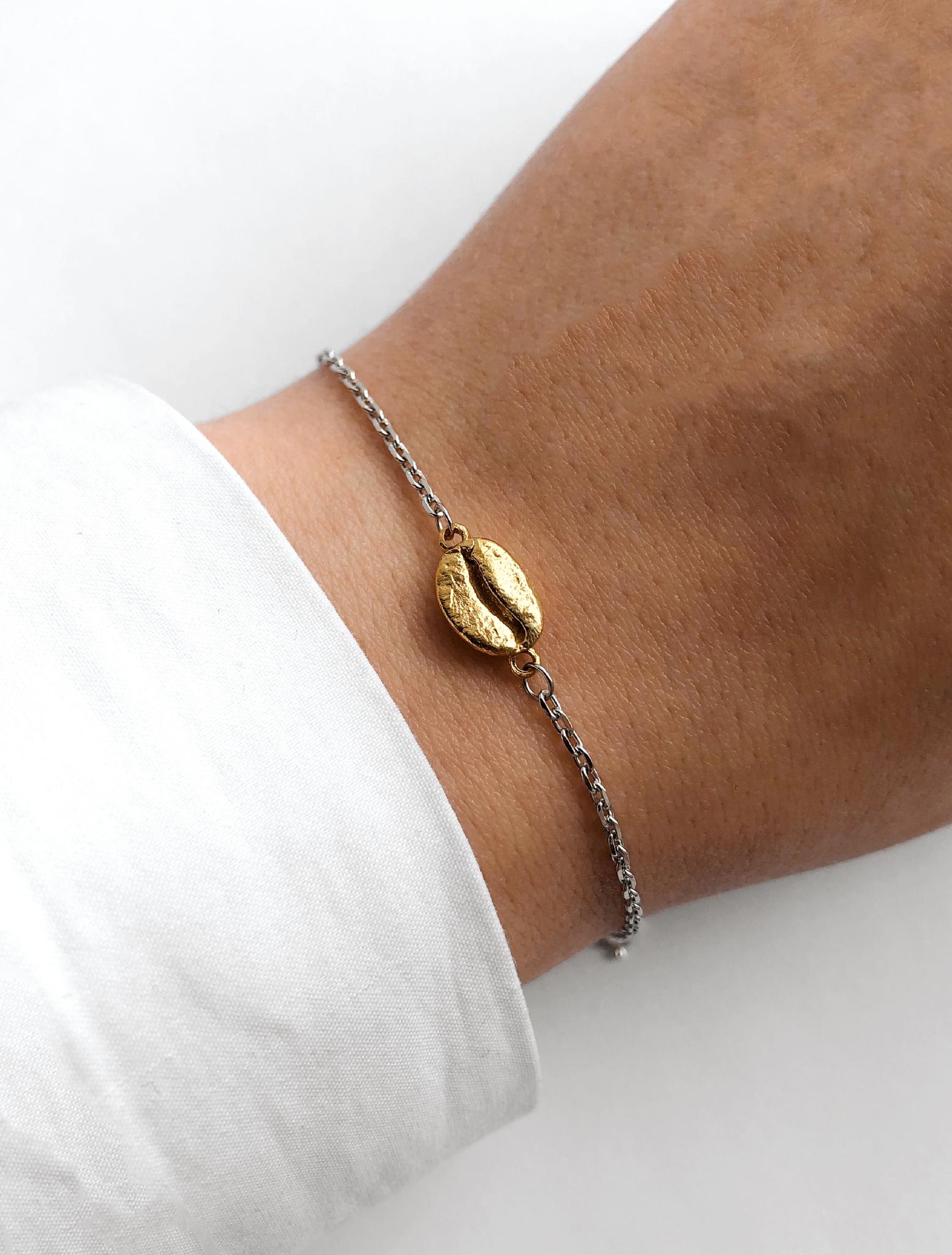 Серебряный браслет на цепочке