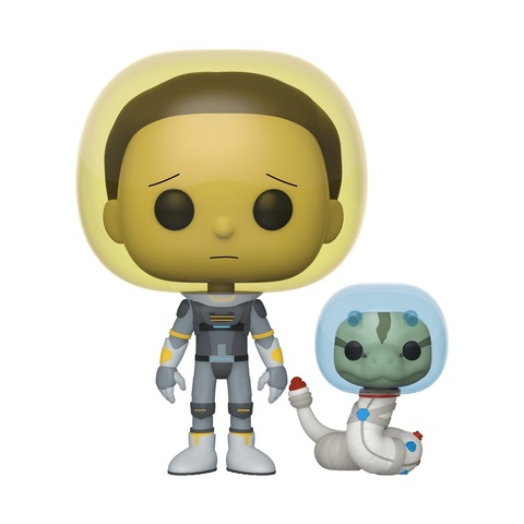 Фигурка Funko POP! Vinyl: Rick & Morty: Space Suit Morty w/S 45435