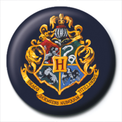 Значок Pyramid: Harry Potter (Hogwarts Crest)