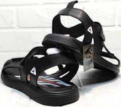 Трекинговые сандали мужские Nike 40-3 Leather Black.