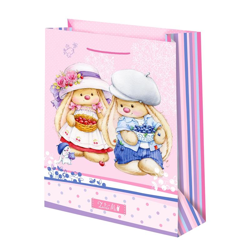 Подарочный пакет Зайка Ми Ягода (малый)