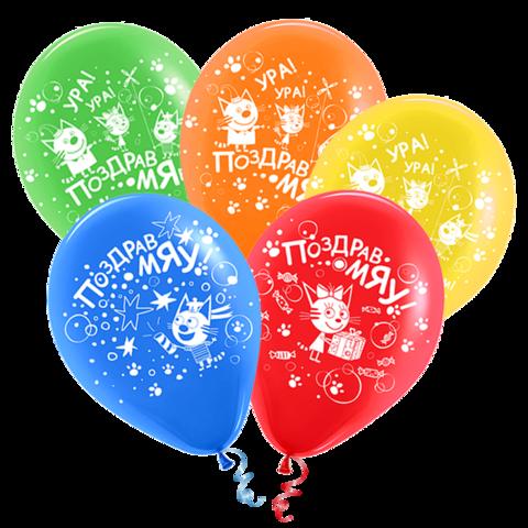 Воздушные шары три кота