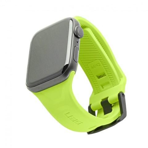 Ремень силиконовый UAG Scout Silicone для Apple Watch 44/42 желто-зеленый (Billie)