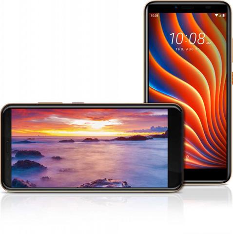 Смартфон HTC Wildfire E 32Gb 2Gb золотистый моноблок 3G 4G 2Sim 5.45