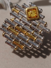 Адела  (кольцо из серебра)