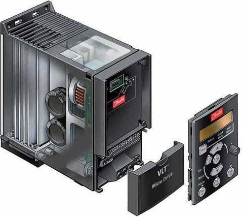 Панель с потенциометром Danfoss VLT IP21, 132B0101 для частотного преобразователя