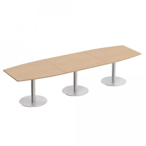 Стол для переговоров на опорах-колоннах (360x110x75)