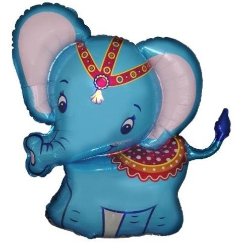 Шар-фигура Слоненок Синий, 86 см