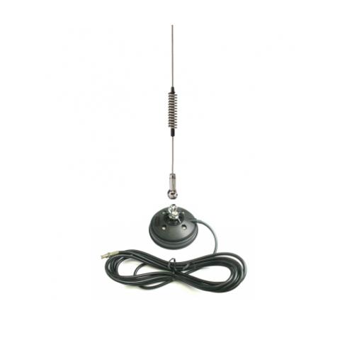 Автомобильная магнитная УКВ антенна SIRIO SU 370-490 BLACK MAG PL
