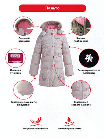 Особенности пальто Premont Маршмеллоу