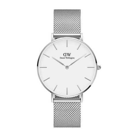 Купить Наручные часы Daniel Wellington Petite Sterling 36 мм DW00100306 по доступной цене