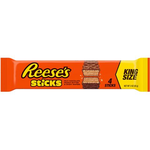 Reese's Sticks Вафельный батончик с арахисовой пастой 85 гр
